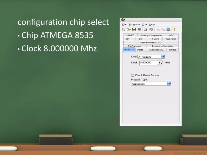 configuration chip select