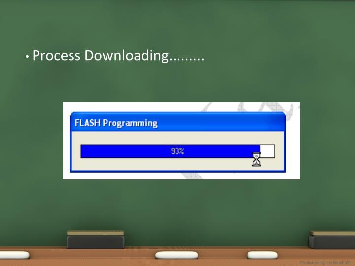 Process Downloading.........