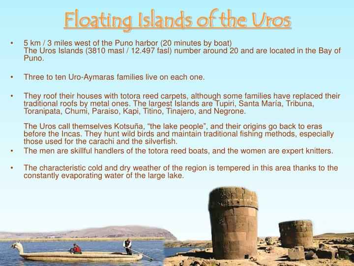 Floating Islands of the Uros