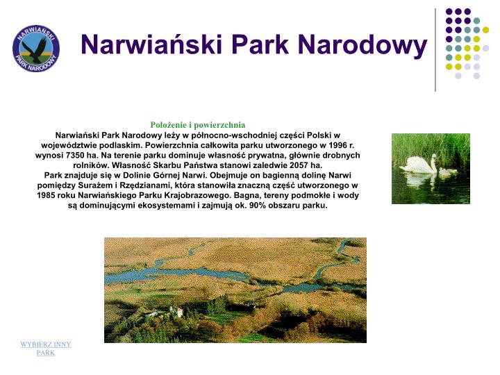 Narwiaski Park Narodowy