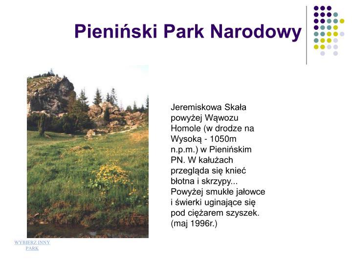 Pieniski Park Narodowy
