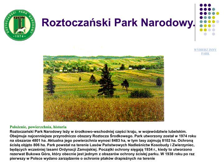 Roztoczaski Park Narodowy.