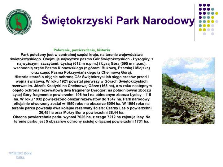 witokrzyski Park Narodowy