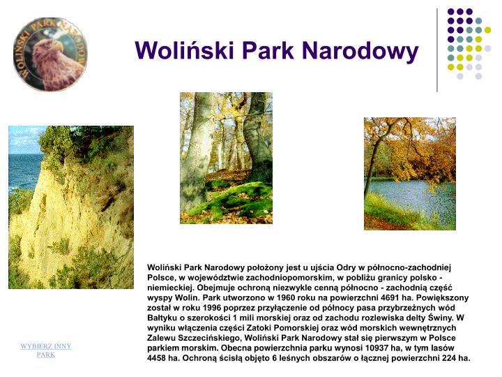 Woliski Park Narodowy