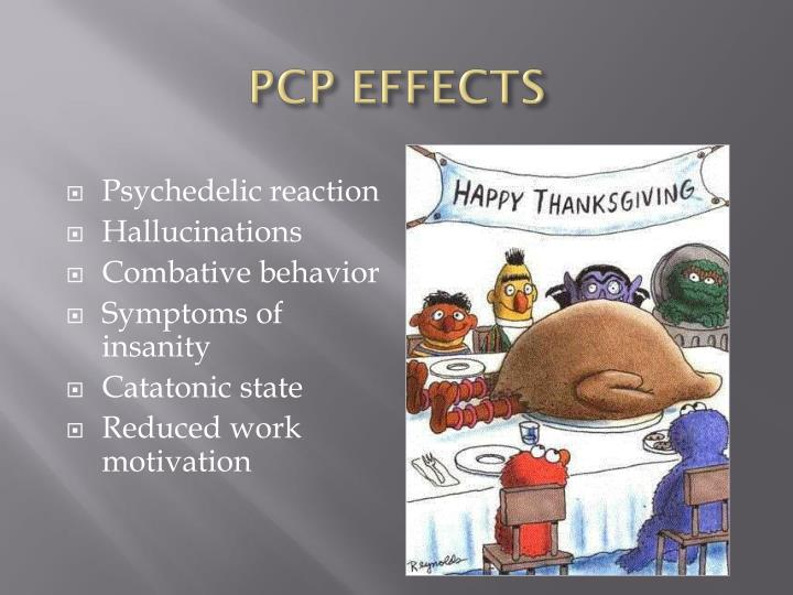 PCP EFFECTS