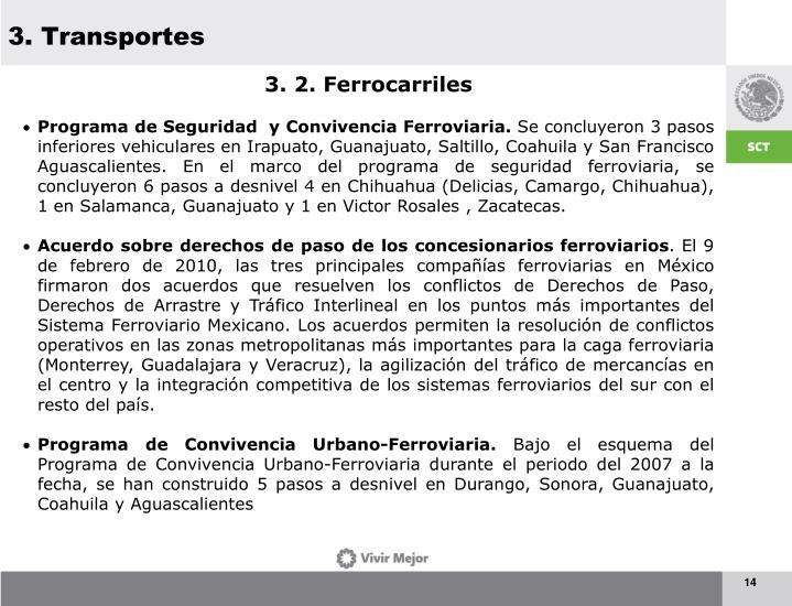 3. Transportes