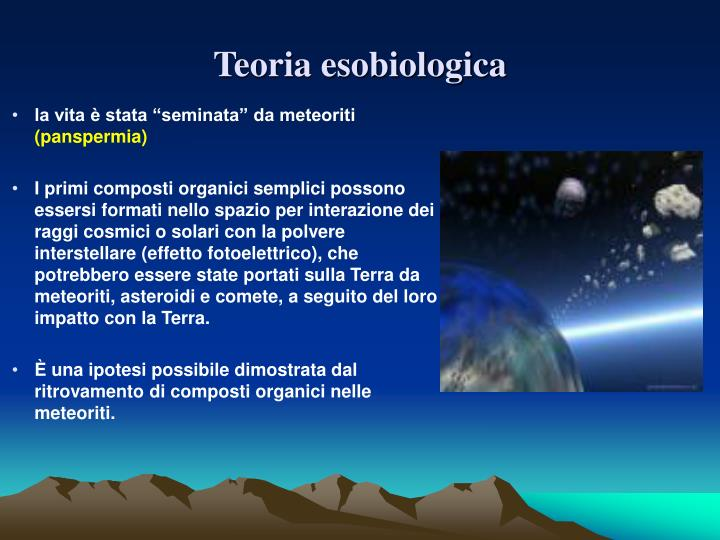 Teoria esobiologica