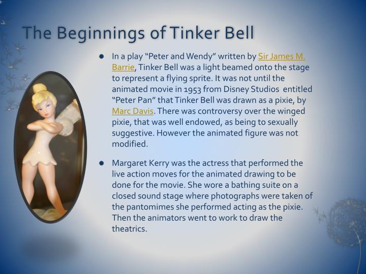 The Beginnings of Tinker Bell