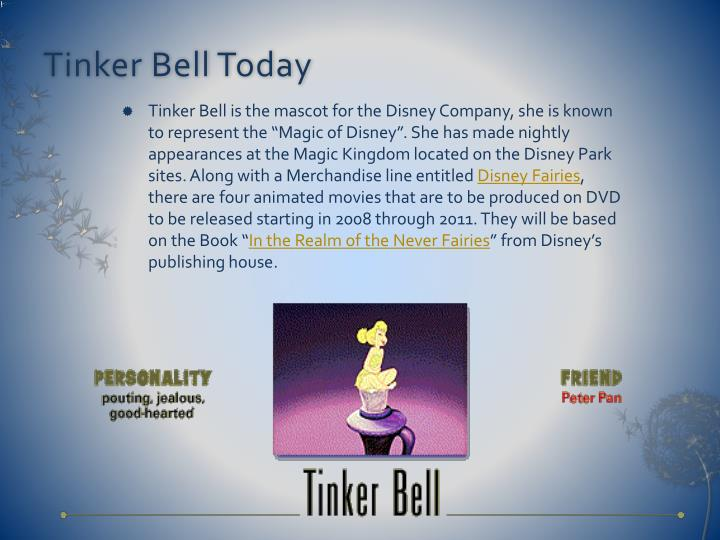 Tinker Bell Today