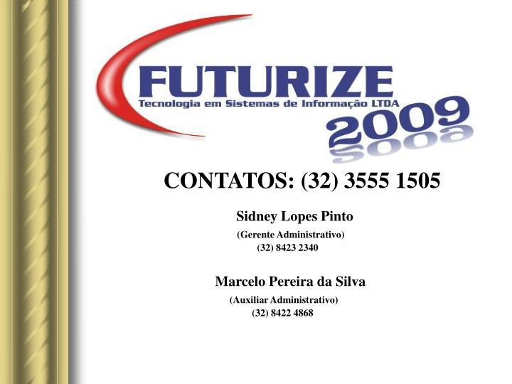 CONTATOS: (32) 3555 1505