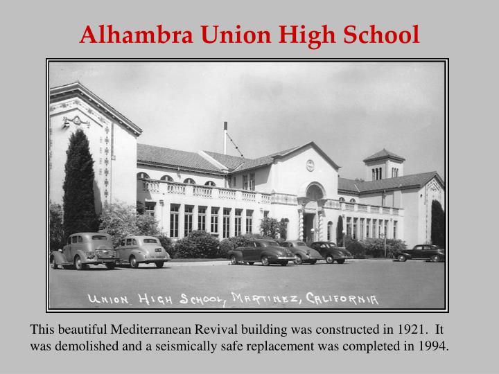 Alhambra Union High School
