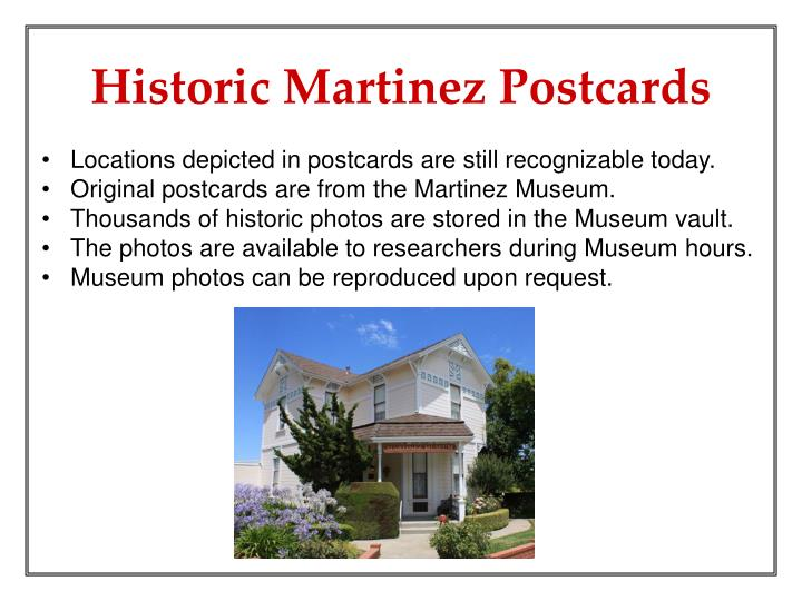Locations depicted in postcards are still recognizable today.