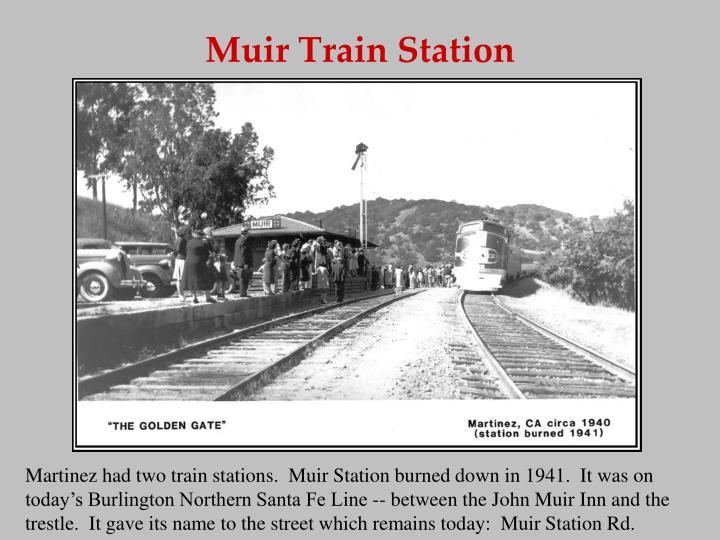 Muir Train Station