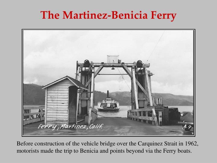 The Martinez-Benicia Ferry