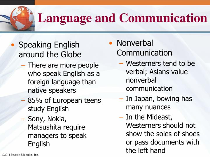 Speaking English around the Globe