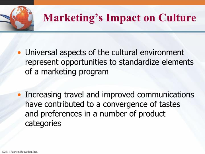 Marketing's Impact on Culture