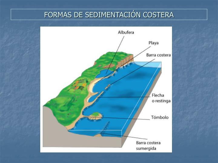 FORMAS DE SEDIMENTACIÓN COSTERA