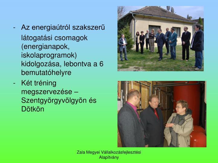 - Az energiatrl szakszer