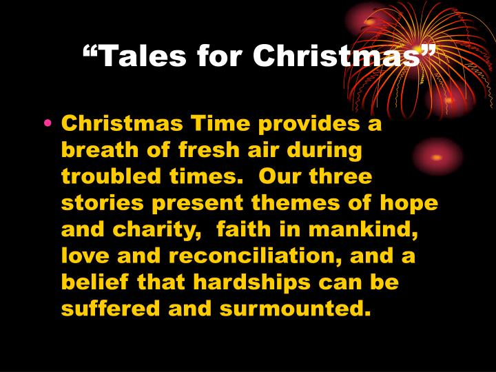 Tales for christmas