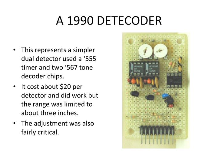 A 1990 DETECODER