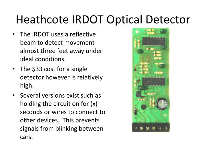 Heathcote IRDOT Optical Detector