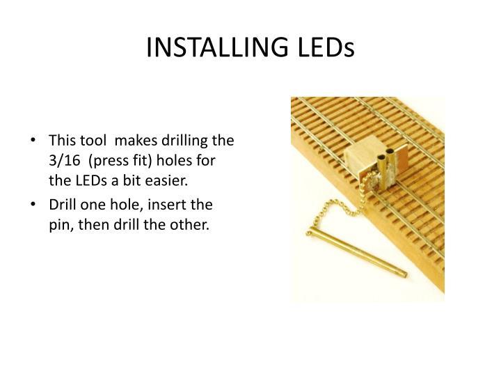 INSTALLING LEDs
