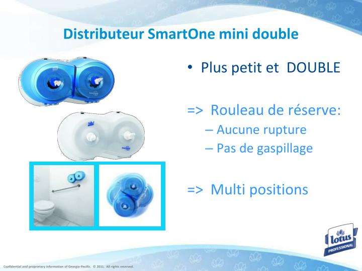 Distributeur SmartOne mini double