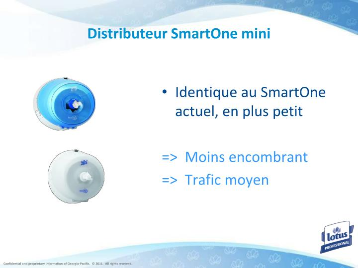 Distributeur SmartOne mini