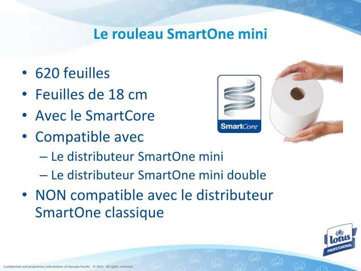 Le rouleau SmartOne mini