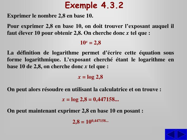 Exemple 4.3.2