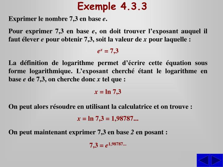 Exemple 4.3.3
