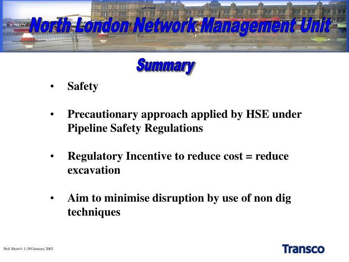 North London Network Management Unit