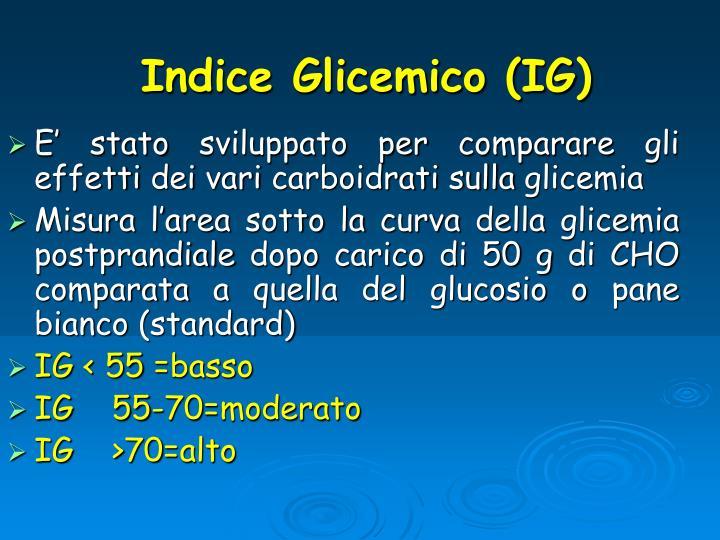 Indice Glicemico (IG)