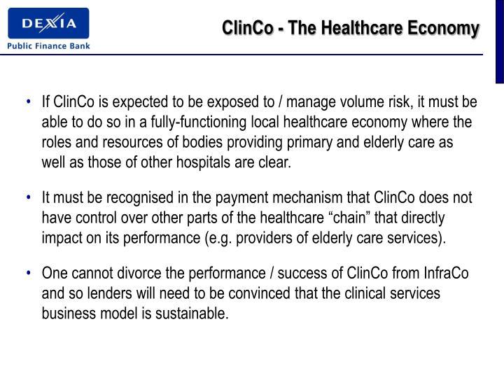 ClinCo - The Healthcare Economy