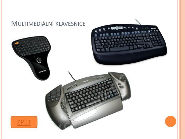 Multimediální klávesnice