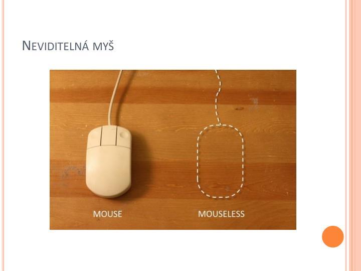 Neviditelná myš