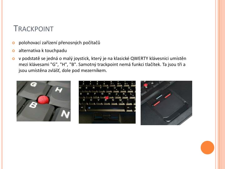 Trackpoint
