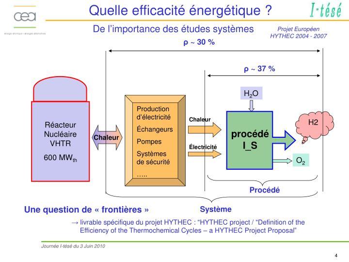 Quelle efficacité énergétique ?