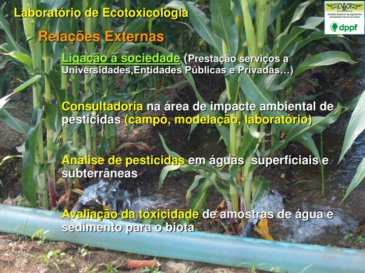 Laboratório de Ecotoxicologia