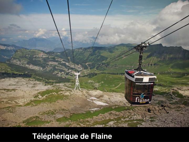 Téléphérique de Flaine