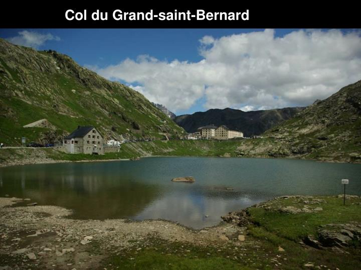 Col du Grand-saint-Bernard