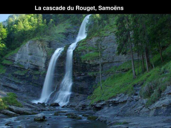 La cascade du Rouget, Samoëns