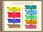 9 step e biz blueprint methodology repeat 3 times to map current best then ideal practices