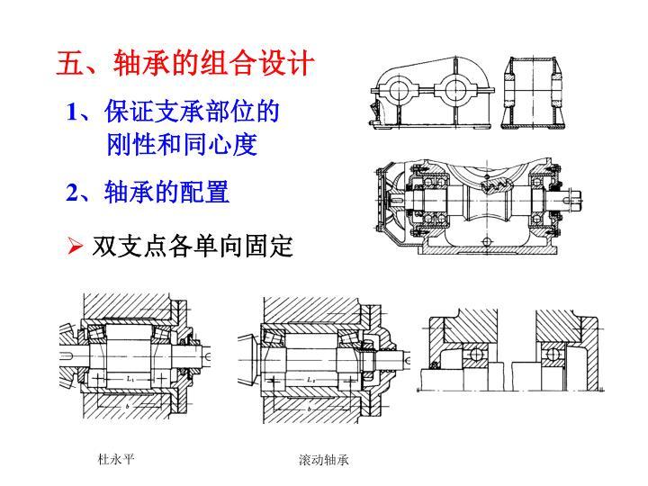五、轴承的组合设计