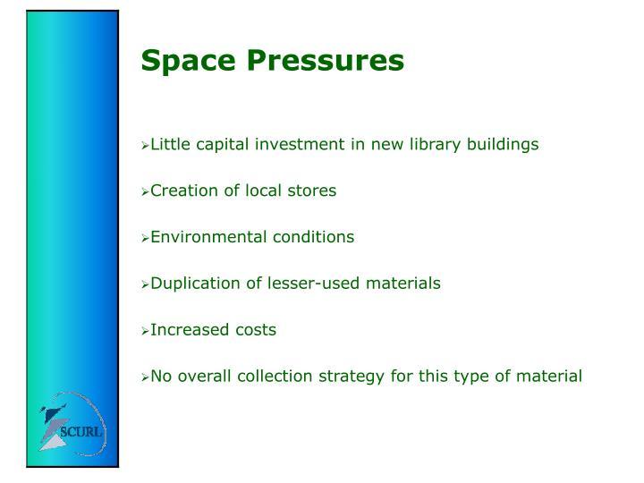 Space Pressures