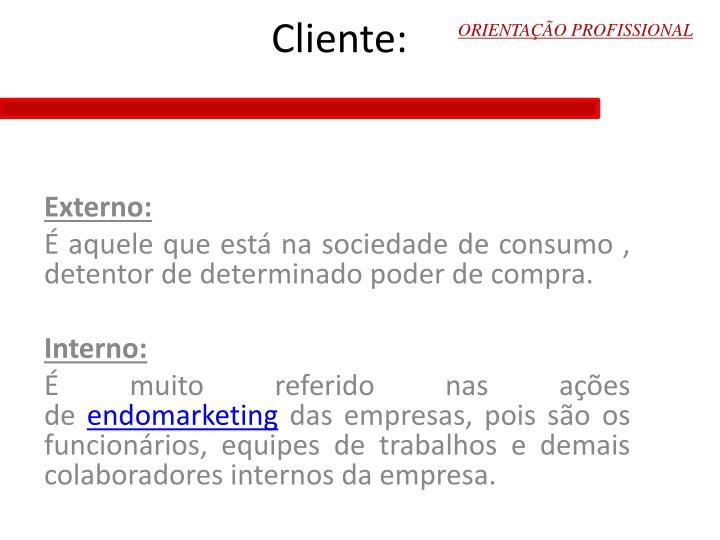 Cliente:
