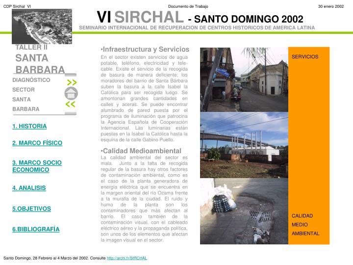 Infraestructura y Servicios