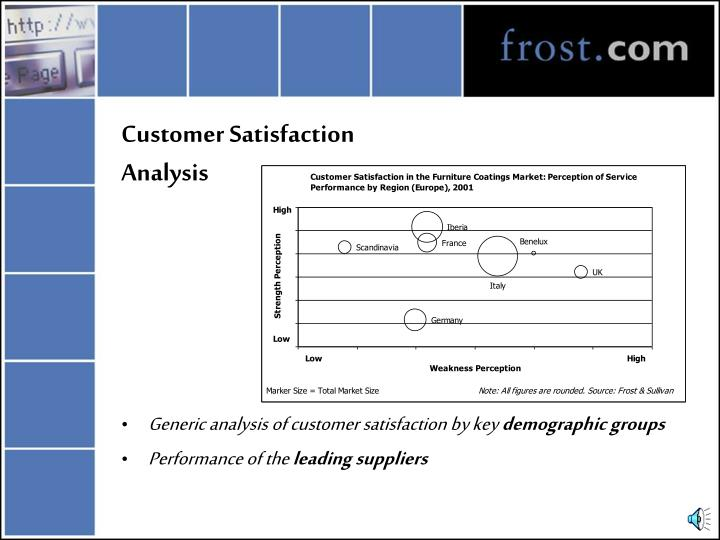 Customer Satisfaction Analysis