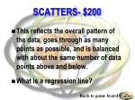 scatters 200