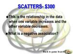 scatters 300